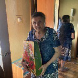 Сотрудники Ульяновского отделения поздравили ветеранов организации с Днем медико-социальной службы