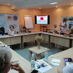 Сотрудники Ульяновского Красного Креста поделились опытом с представителями ТОС