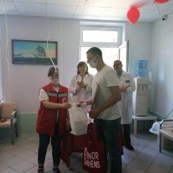 Ульяновское отделение РКК поздравило доноров крови с праздником