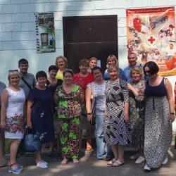 Представители НКО Самарской и Волгоградской областей посетили местное отделение РКК в Ульяновской области