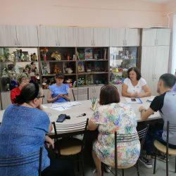 Ульяновское отделение Красного Креста приступило к реализации программы проф. обучения и доп. образования для сотрудников Центра «Преодоление»