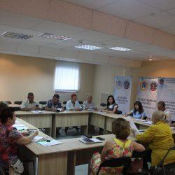 Елена Сибагатулина приняла участие в совещании с руководителями НКО Ульяновской области — поставщиками социальных услуг