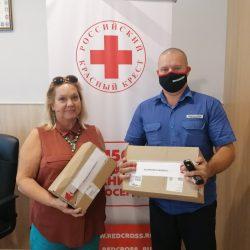 Ульяновский Красный Крест совместно с ООО «Bridgestone Russia» обеспечили канцтоварами к началу нового учебного года 4 многодетные семьи